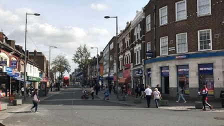 Joint operation lauched for 2 weeks to crack down on crime in Barking town center. Picture: London B