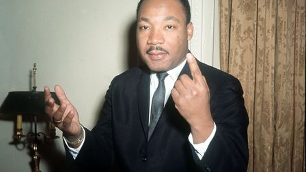 Dr Martin Luther King was assassinated in 1968. Pic credit: PA