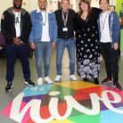 New staff begin work at London's first OnSide Youth Zone which will open in spring 2019 in Barking