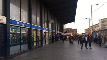 The WHSmith store at Barking station. Picture: Alex Shaw