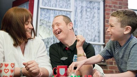 The Shared Lives scheme allows a vulnerable adult to take part in family life. Picture: Grace Eyre