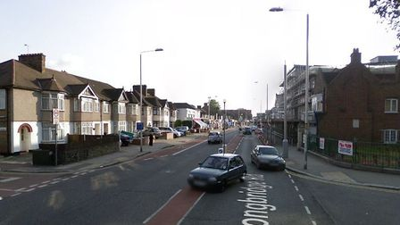 Longbridge Road, where the stabbings took place. Picture: Google