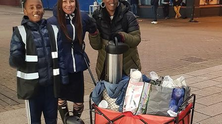 Volunteers from Nightingale Angels UK are teaming up with Lola's Homeless to deliver Christmas prese