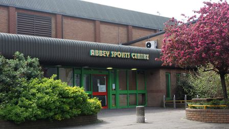 The old Abbey Sports Centre will be demolished. Pic: Melissa Page