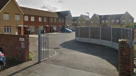 Police were called to a brawl in Eastbrook Close, Dagenham last night. Picture: GOOGLE MAPS