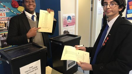 Voting in the Barking and Dagenham Youth Forum is taking place this week including at All Saints Cat