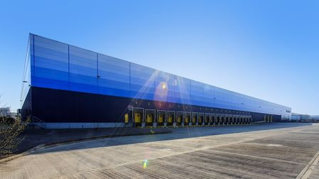 Logic233 in Dagenham is set to open in May. Picture: Logicor