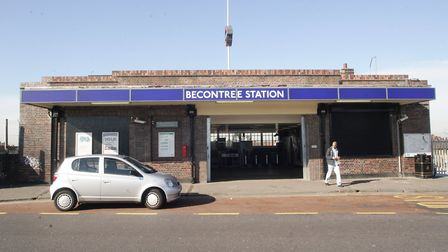The man was stabbed at Becontree Station. Pic: Archant