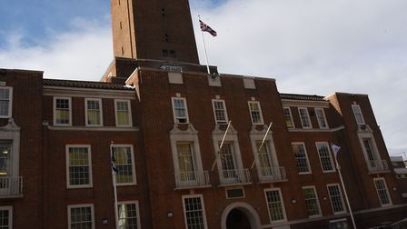 Barking Town Hall... accused of 'secrecy' over Freedom of Information requests