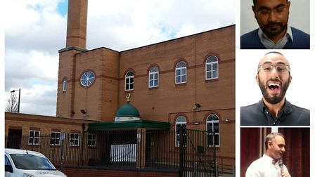 Al-Madina Mosque in Barking, MEN's former base of operations. Right from top: Co-founder Harun Rashi