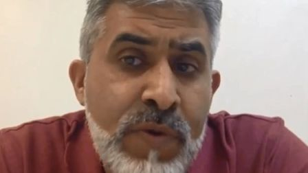 Mosque secretary Ashfaq Siddique praises Rocky Mirza's intellect on video and says he has come up wi