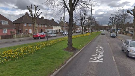 A man is in a critical condition after a crash involving a lorry in Valence Avenue, Dagenham. Pictur