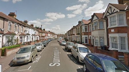 The man was caught with the Class B drug in Sunningdale Avenue, Barking. Picture: Google