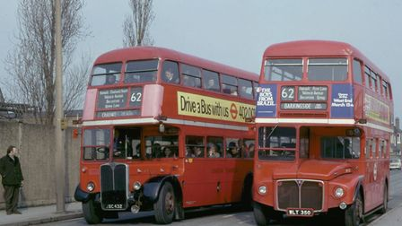 The RT and RM buses used to take passengers across routes in London. Picture: David E Jones.