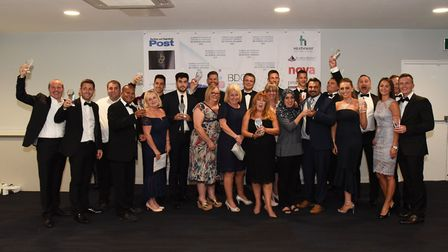 Winners at the Barking and Dagenham Chamber of Commerce Business Awards 2018. Picture: Ken Mears