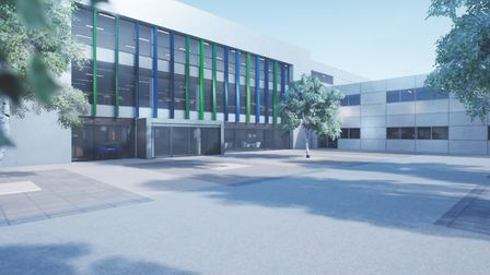 A mock-up of the Institute of Technology at Barking and Dagenham College. Picture: Barking and Dagen