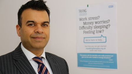 Barking and Dagenham Clinical Commissioning Group's clinical lead for mental health Dr Raj Kumar. Pi