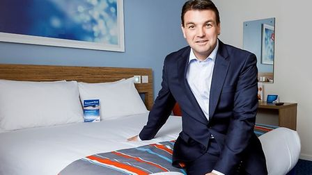 Peter Gowers, CEO of Travelodge. Picture: TRAVELODGE
