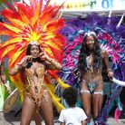 An array of colourful costumes added to the spectacle at Barking Carnival. Picture: Gurpreet Bhatia