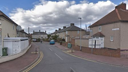 Pinley Gardens, which according to the figures may be Barking and Dagenham's noisiest street. Pictur