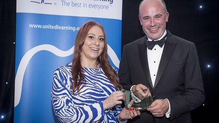 Laura Birdsey was named Primary NQT of the Year at a spectacular black tie gala held at the Cutlers�