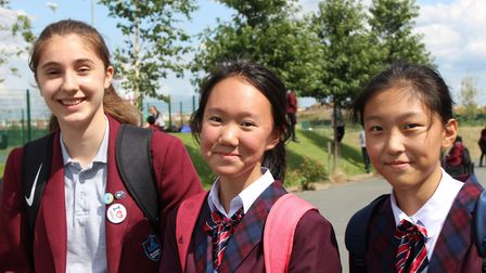 """Headteacher Andy Roberts said: """"�Riverside was delighted to host the students."""" Picture: Julian Ony"""