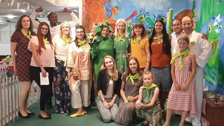 Leaping Toads nursery celebrated its official opening on Saturday with face painting, games and Taek