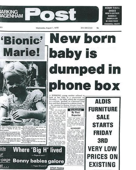 40 years ago... our front page, August 1, 1979
