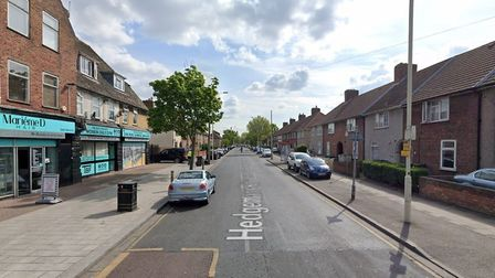 A man has allegedly threatened to burn down a house after a disturbance on Hedgemans Road, Dagenham.