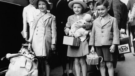 Children from Dagenham were among millions sent from towns and cities to more rural locations when w
