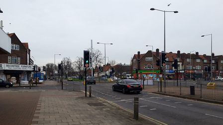 Valence Avenue is one of the crash hotspot locations. Picture: Ken Mears