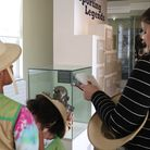 A family at Valence House Museum. Picture: LBBD