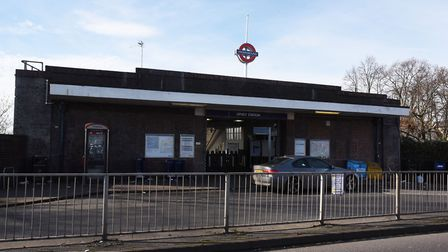 A teenage boy was found with stab injuries at Upney station. Picture: Ken Mears