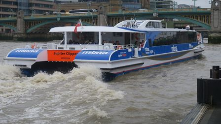One of the projects up for CIL funding is a bid to bring Thames Clipper ferries to Barking. Picture: