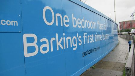 The 78-home development will be solely for first-time buyers in Barking and Dagenham. Picture: Hanna