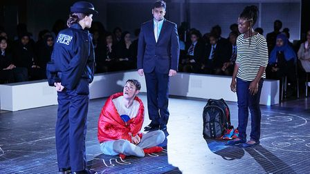 A stage version of The Curious Incident of the Dog in the Night-time will be performed at Dagenham s