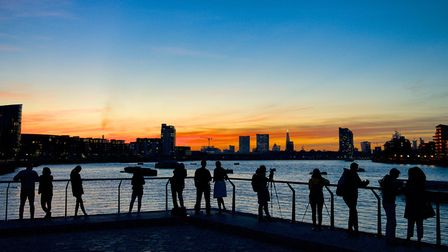 The photograph that cliched David Nicholls the Thames Lens 2018 PLA award. Picture: David Nicholls.