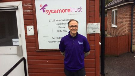 Trevor Hazell is training to run his eighth London Marathon. He's hoping to raise £1,500 for the Dag