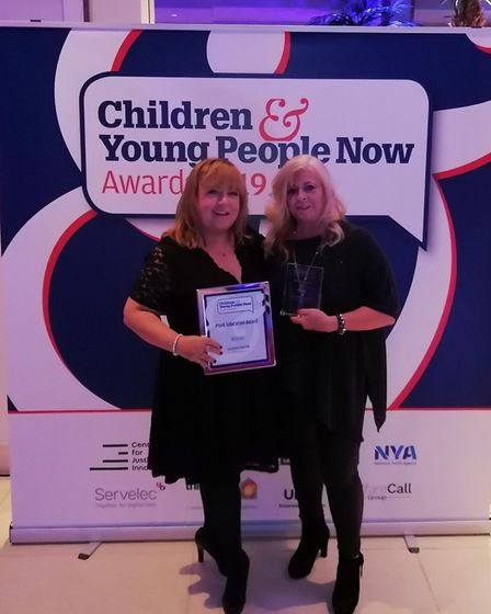 The Sycamore Trust's Parenting Pathways support worker Emma Marston and senior project manager Jean