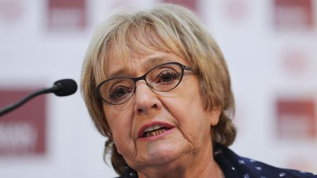 Barking MP, Dame Margaret Hodge. Picture: Yui Mok/PA Images