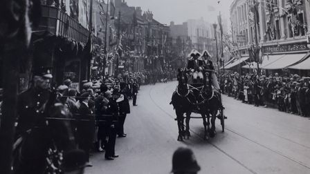 East Street in 1931 when Barking receives its charter. Picture: Archive and Local Studies Centre, Va