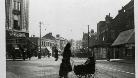 Burton corner in about 1935. Picture: Archive and Local Studies Centre, Valence House