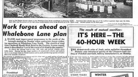 'Six months of this!': Dagenham Post on January 6, 1960. Picture: Archant / Barking and Dagenham Arc