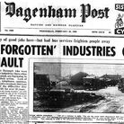 The Dagenham Post's front page from February 10, 1960. Picture: Archant