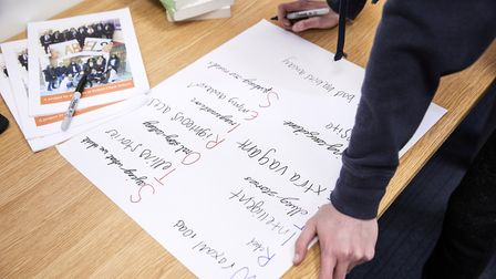 Write Back aims to boost pupils' self-esteem and share their own stories. Picture: Sam Norwood