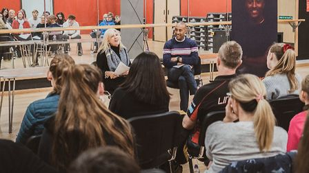 Olympic silver medallist Colin Jackson featured at a sporting champions mentoring day last year as p