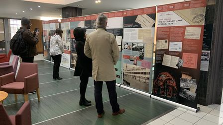 The exhibition in Barking Town Hall. Picture: Bethany Deer