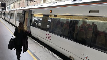 c2c has also won the rail industrys Golden Whistle award for best operational performance in London