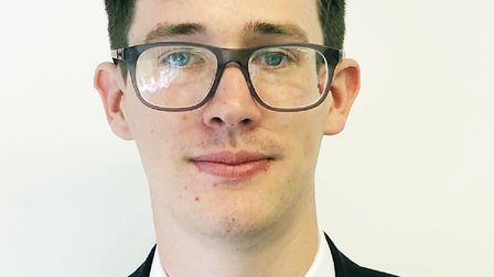 Construction management apprentice Jamie Lord, 21, has just been given a promotion with his company