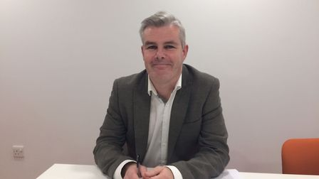 Cllr Dominic Twomey is the deputy leader of Barking and Dagenham Council. Picture: Sophie Morton.